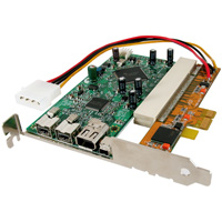 PCI Express adapter card handles half height cards